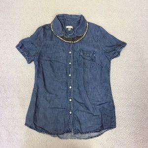 J.Crew Denim Button Up Shirt